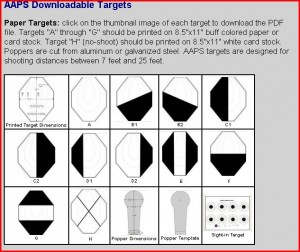 AAPS_targets