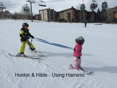 Teaching Kids to Ski