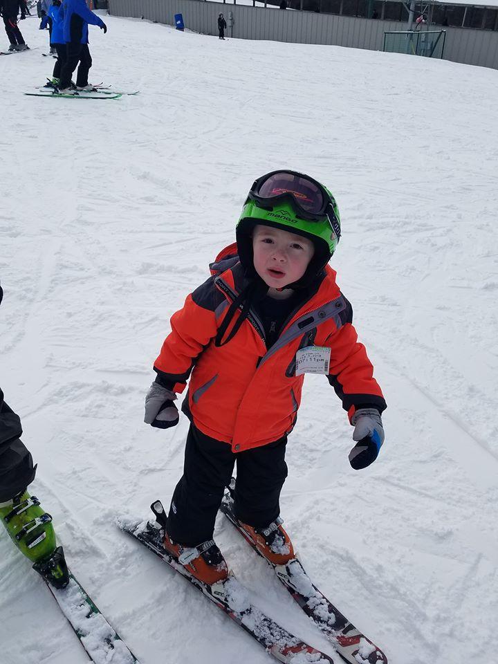 Teaching Kids to Ski